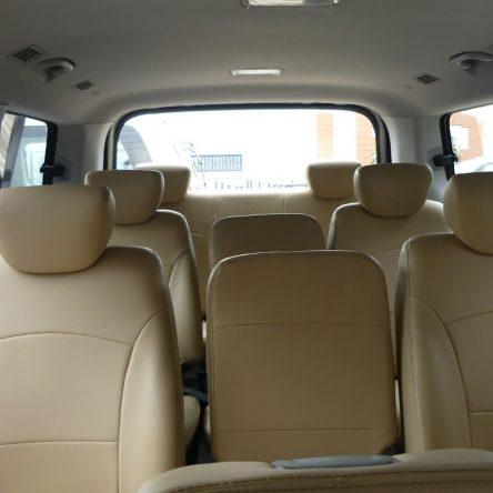 Hyundai H1 Juego Completo De Fundas Cuerina Beige